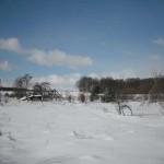 Platzansicht im Winter 2010