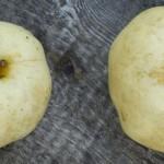 2 Äpfel Golden Delicius