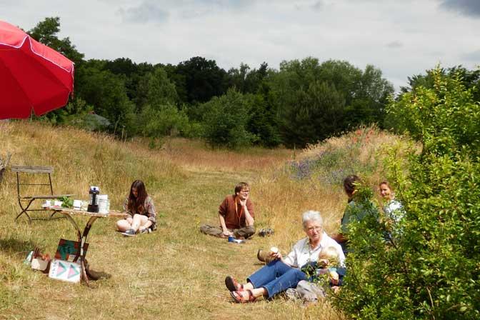 Natur-Ralley-TeilnehmerInnen