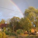 Regenbogen über Billerbeck 2009