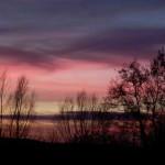Wolken im Feuer - eine Farblandschaft