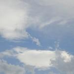Wolkengebilde zum Wegtraeumen